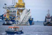 Nord Stream 2: приступить к укладке труб «Северного потока — 2» готовится «Академик Черский»