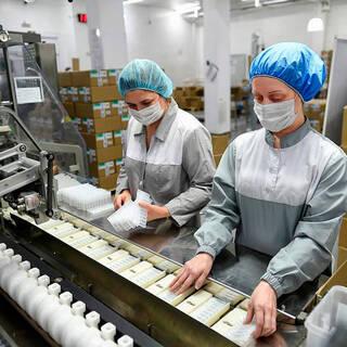 Производство лекарственных препаратов в России выросло на 61 процент
